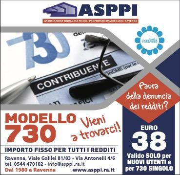 Denuncia dei redditi 2021 ASPPI Ravenna